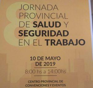 JORNADA PROVINCIAL DE SALUD Y SEGURIDAD EN EL TRABAJO