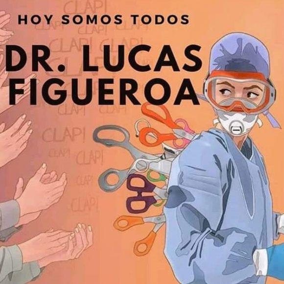 Nos solidarizarnos con el médico cordobés Lucas Figueroa