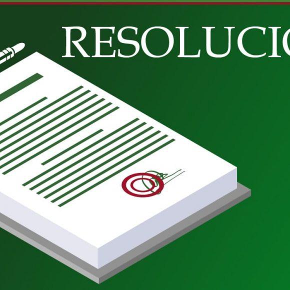 Resoluciones actualidad del 29 de julio de 2020