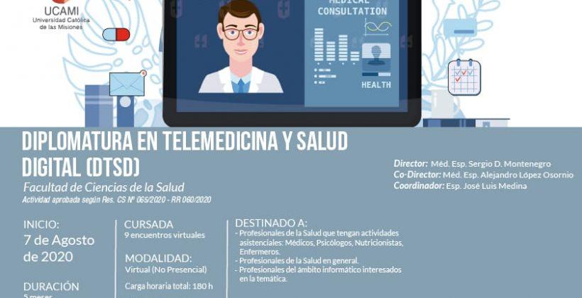 Diplomatura en Telemedicina y Salud Digital