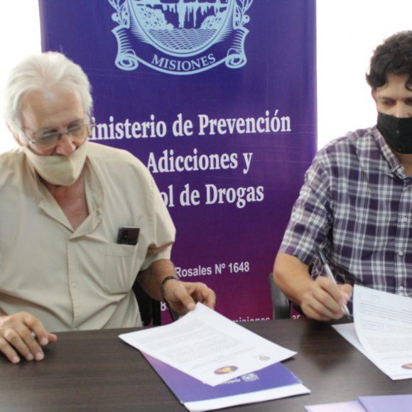 El Colegio de Médicos firmó un convenio con el Ministerio de Prevención de Adicciones