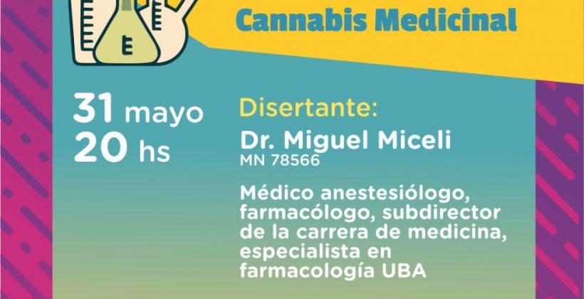 """Cannabis medicinal: """"Mitos y realidades"""""""